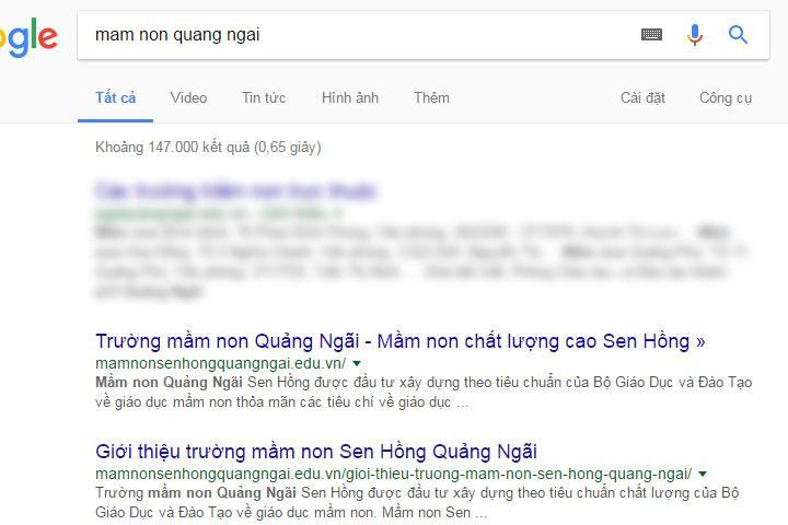 seo website tại quảng ngãi