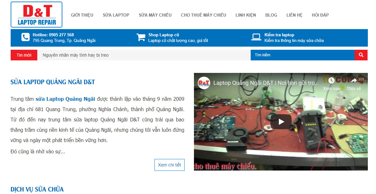 website-sua-laptop