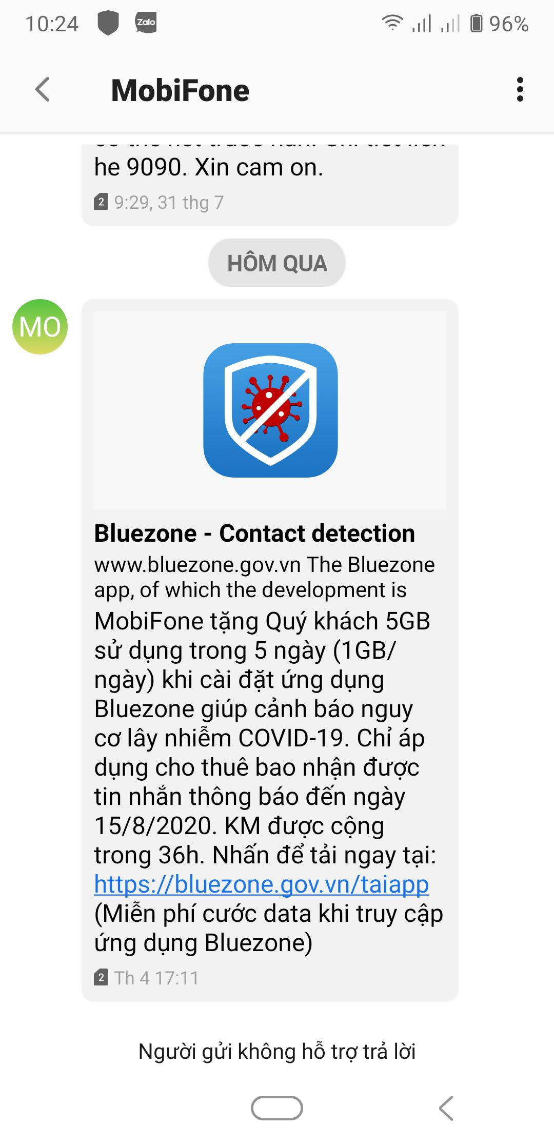 cai ung dung bluezone nhạn 5Gb data