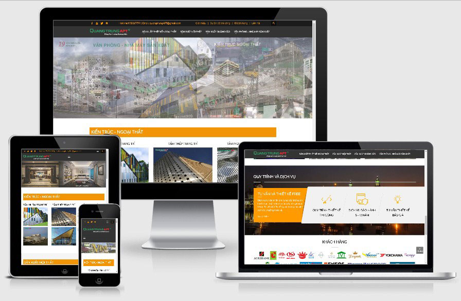 công nghệ thiết kế website 7